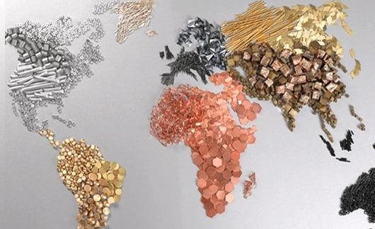 نحوه ی نامگذاری انواع فلزات در دنیا