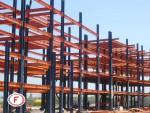 مراحل ساخت ساختمان اسکلت فلزی