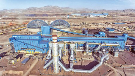 رشد ۵۳ درصدی در سنگآهن سنگان