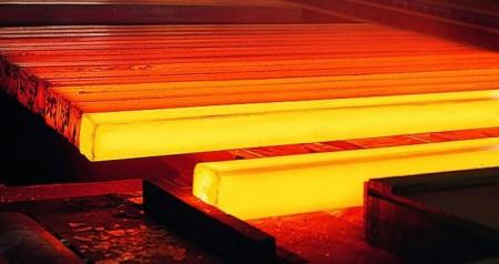 عبور تولید شمش فولاد از رکورد ۲۲.۵ میلیون تن در سال ۹۹.