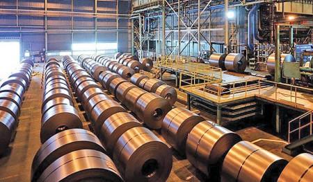 ریزش بهای فولاد در بورس کالا