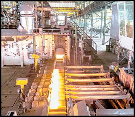 کسب رکوردهای جدید در فولاد آلیاژی ایران