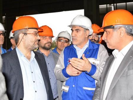 افزایش ظرفیت ۶۰ هزار تنی فولاد اسفراین