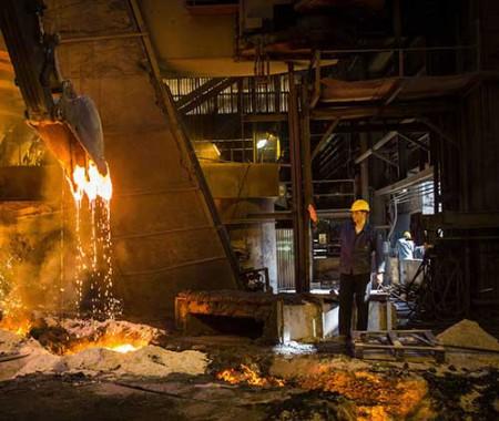 افزایش ۹.۹ درصدی تولید فولاد ایران.
