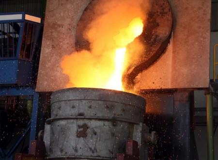 شکوفائی تولید در مجتمع فولاد صنعت بناب در سال رونق تولید