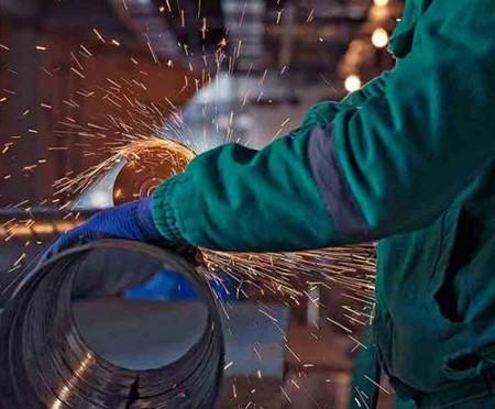 تداخل فعالیت حلقههای فولادی.