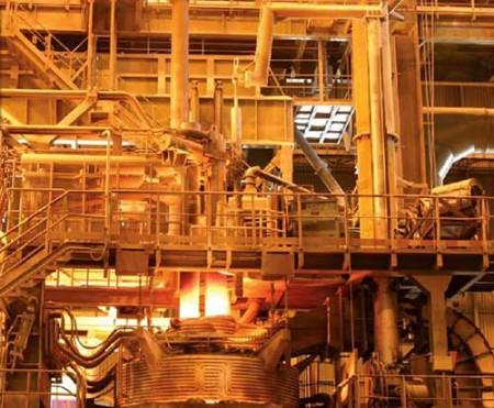 بررسی مشکلات صنعت فولاد.
