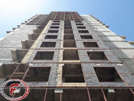 اجرای نبشیکشی ساختمان...