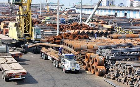 دولت صادرات فولاد را تسهیل کند